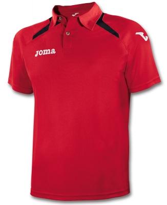 Tricouri polo Joma Champion II rosu-negru