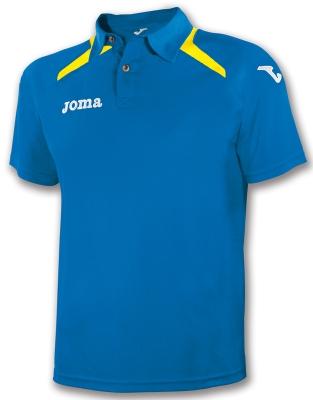 Tricouri polo Joma Champion II Royal albastru roial galben