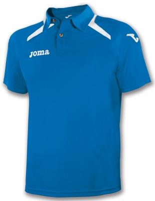 Tricouri polo Joma Champion II Royal-alb albastru roial