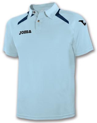 Tricouri polo Joma Champion II Sky albastru deschis