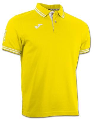 Tricouri polo Joma Combi galben cu maneca scurta