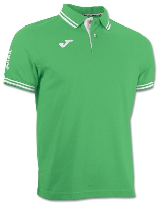 Tricouri polo Joma Combi verde cu maneca scurta