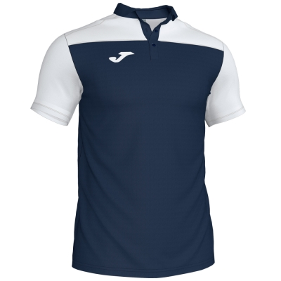 Tricouri Polo Joma Combi bleumarin-alb cu maneca scurta