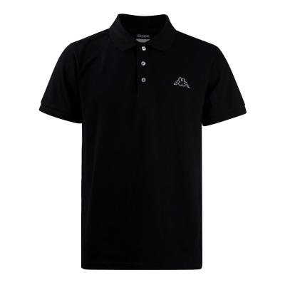 Tricouri Polo Kappa Basic pentru Barbati negru