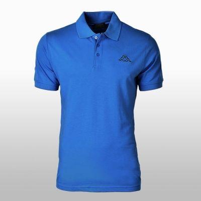Tricou bumbac albastru Polo Kappa Polo Barbati