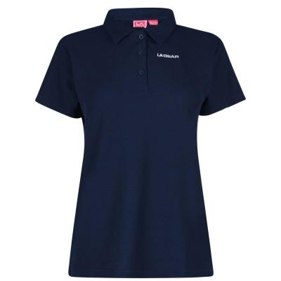 Tricouri Polo LA Gear Pique pentru Femei bleumarin