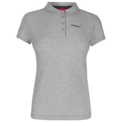 Tricouri Polo LA Gear Pique pentru Femei gri