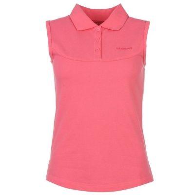 Tricouri Polo LA Gear fara maneci pentru Femei roz