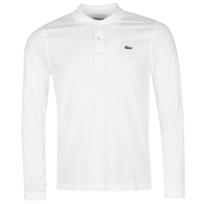 Lacoste Fit Polo alb