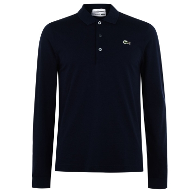 Lacoste Fit Polo bleumarin