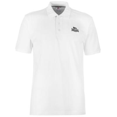 Tricouri polo Lonsdale Plain pentru Barbati alb