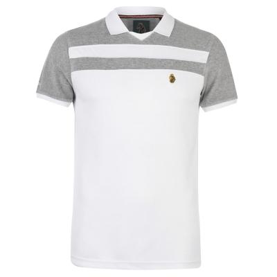 Tricouri Polo Luke Sport Away alb