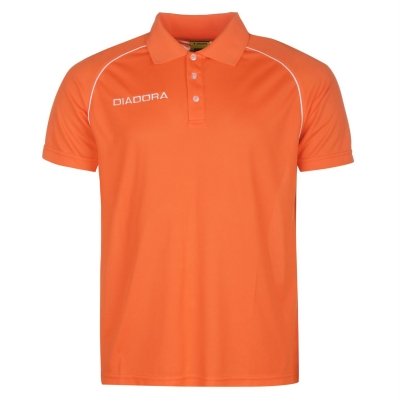 Tricouri Polo Diadora Madrid pentru Barbati portocaliu