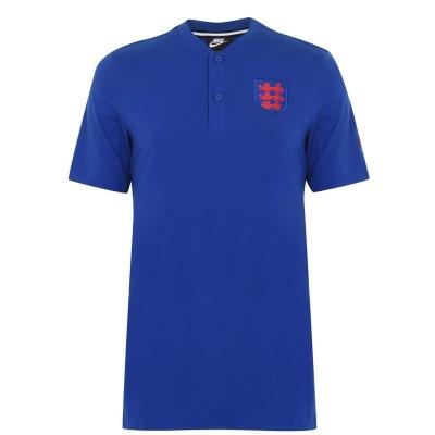 Tricouri Polo Nike Anglia 2020 pentru Barbati albastru roial