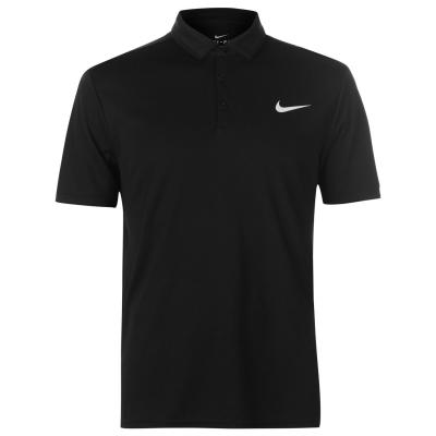 Tricouri polo Nike Court Dry pentru Barbati negru