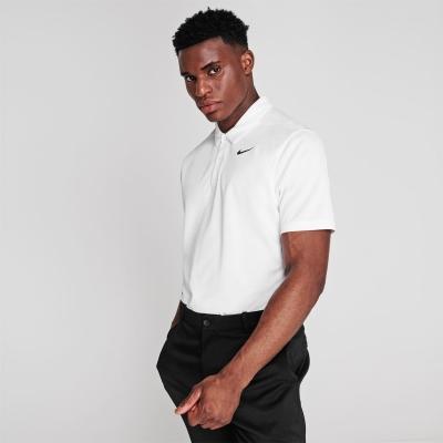 Tricouri Polo Nike Essential Golf pentru Barbati alb