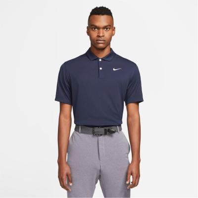 Tricouri Polo Nike Essential Golf pentru Barbati albastru alb