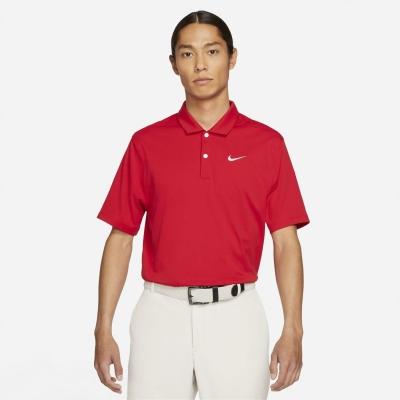 Tricouri Polo Nike Essential Golf pentru Barbati varsity rosu