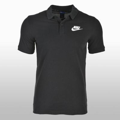 Tricou polo bumbac negru Nike Sportswear Matchup Barbati