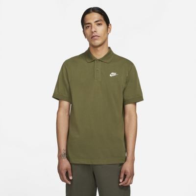 Tricouri Polo Nike Match Up pentru Barbati rough verde