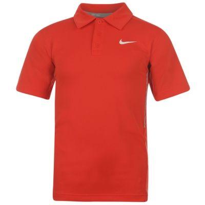 Tricouri Polo Nike NET UV Tennis s pentru Juniori