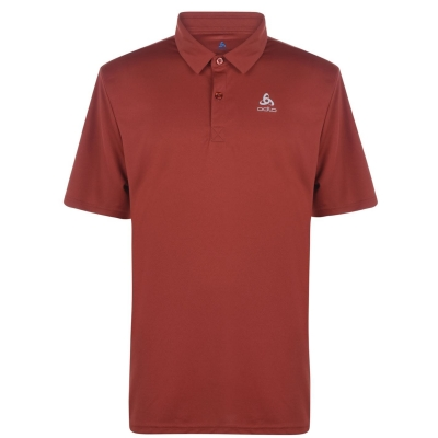 Tricouri Polo Odlo Cardada pentru Barbati rosu