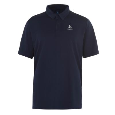 Tricouri Polo Odlo Cardada pentru Barbati diving bleumarin