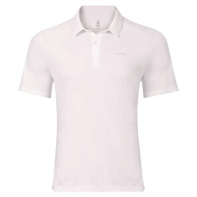 Tricouri Polo Odlo Cardada pentru Barbati alb