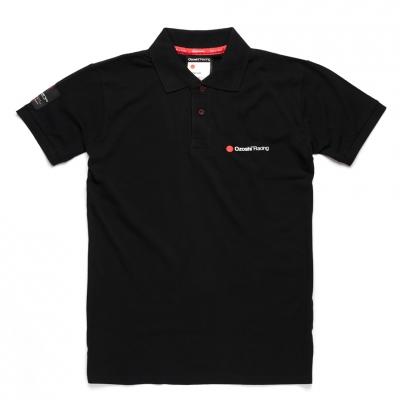 Tricouri polo Ozoshi Takeshi negru O20PSBR001 pentru Barbati