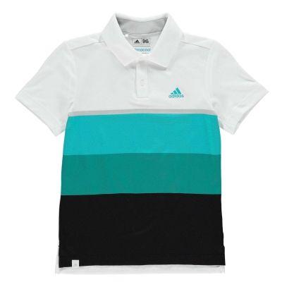 Tricouri polo pentru golf adidas ClimaCool pentru baietei