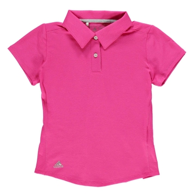 Tricouri polo pentru golf adidas ClimaHeat pentru fetite