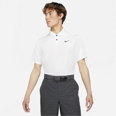 Tricouri polo pentru golf Nike Vapor pentru Barbati alb
