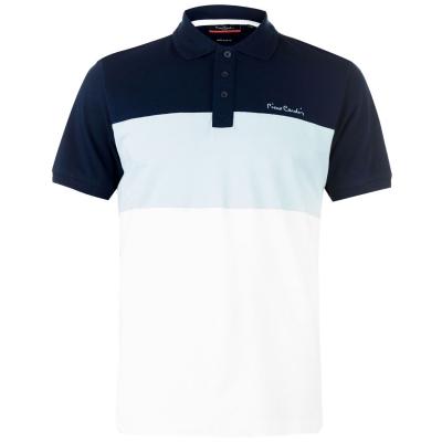 Tricouri Polo Pierre Cardin Cut And Sew pentru Barbati bleumarin deschis albastru