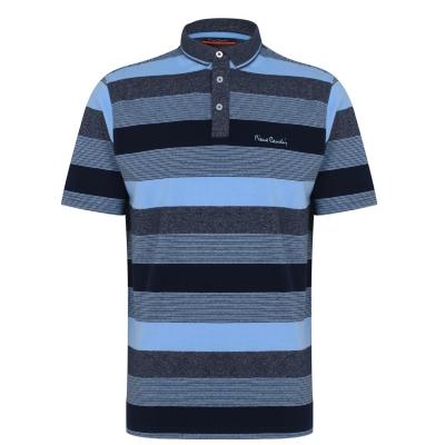 Tricouri Polo Pierre Cardin Dye Jersey pentru Barbati albastru bleumarin