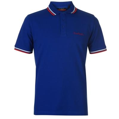 Tricouri Polo Pierre Cardin Tipped pentru Barbati albastru roial