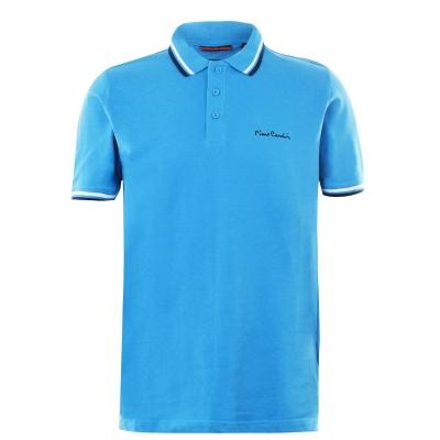 Tricouri Polo Pierre Cardin Tipped pentru Barbati albastru