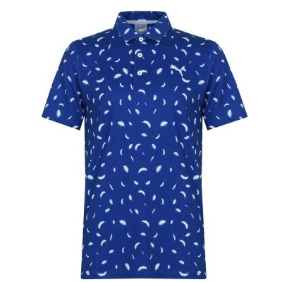 Tricouri Polo Puma Cloudspun Feather pentru Barbati mazarine albastru