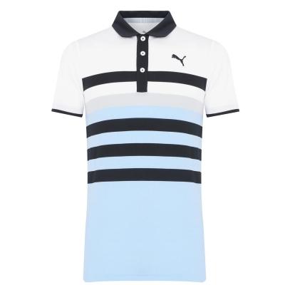 Tricouri Polo Puma MATTR 1 pentru Barbati bleumarin blazer