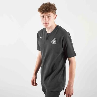 Tricouri polo Puma Newcastle United Crew Top pentru Barbati negru