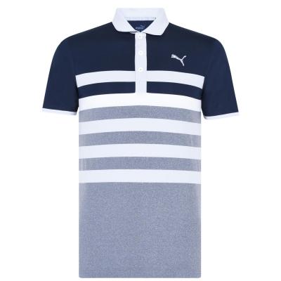 Tricouri Polo Puma One Way pentru Barbati bleumarin blazer