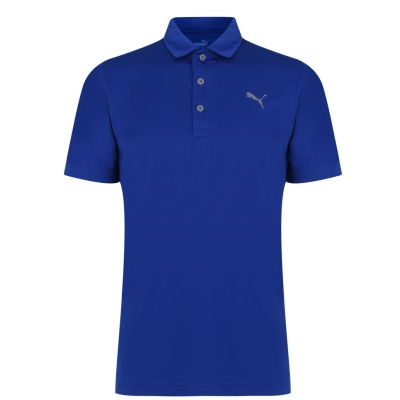 Tricouri Polo Puma Rotation pentru Barbati mazarine albastru