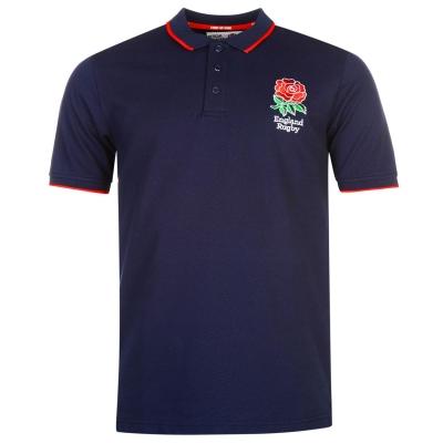Tricouri Polo RFU Anglia Rugby Core pentru Barbati bleumarin