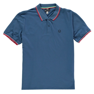 Tricouri Polo Sergio Tacchini Zuck pentru Barbati albastru