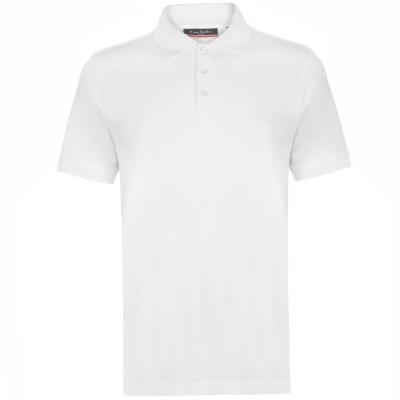Tricouri polo simple Pierre Cardin pentru Barbati alb