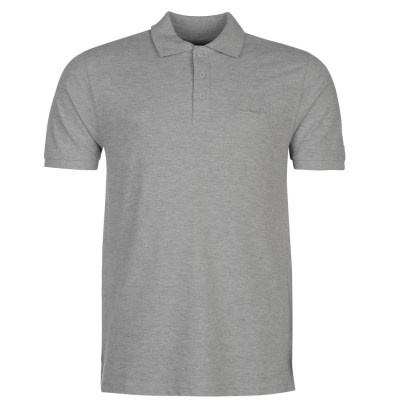 Tricouri polo simple Pierre Cardin pentru Barbati gri marl