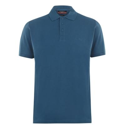 Tricouri polo simple Pierre Cardin pentru Barbati bleu