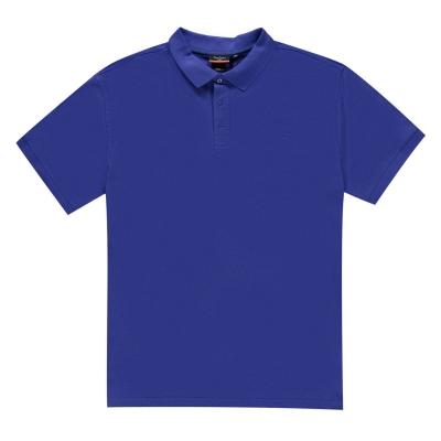 Tricouri polo simple Pierre Cardin XL pentru Barbati albastru roial