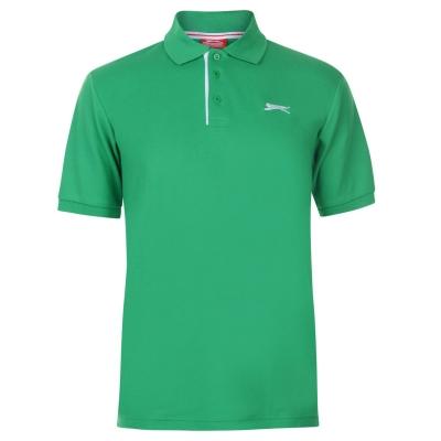 Tricouri polo simple Slazenger pentru Barbati bright verde