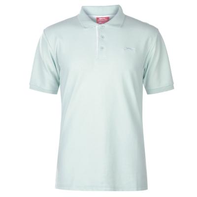 Tricouri polo simple Slazenger pentru Barbati albastru aqua