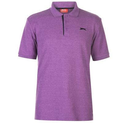 Tricouri polo simple Slazenger pentru Barbati bright mov